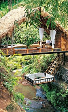 Resort Spa Treehouse, Bali. Panchoran Retreat