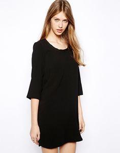 Image 1 ofMango 3/4 Sleeve Tunic Dress