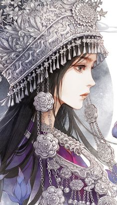 High-rated fantasy books you must read! Flying Lines is a hub of hottest Chinese fantasy novels. And they are all free to read! Sketch Manga, Manga Art, Chinese Drawings, Chinese Art, Kawaii Anime Girl, Anime Art Girl, Character Art, Character Design, Beautiful Fantasy Art