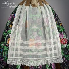 Halloween Disfraces, Heirloom Sewing, Aragon, Vintage Textiles, Margarita, Drawstring Backpack, Girl Outfits, How To Make, How To Wear