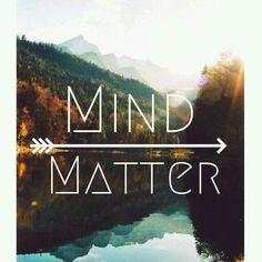 Mind over matter❤