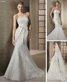 2012 online wedding gown
