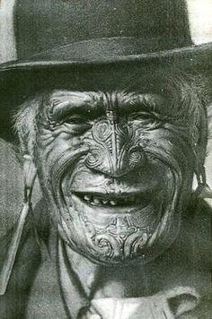 Maori Elder/tribesmen