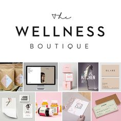 Moodboard for the lovelies over at The Wellness Boutique #SmackBangDesigns…