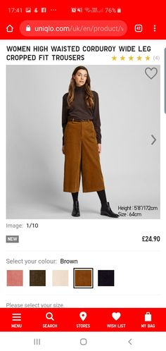 My Bags, Corduroy, Trousers, Autumn, Legs, Fitness, Shopping, Color, Women