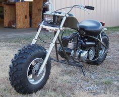 Custom Mini Bike Dirt Chopper