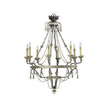 "View the Cyan Design 6513-8 44.5"" Eight Lamp Chandelier from the Provence Collection at LightingDirect.com."