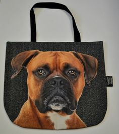 3D Bag with Sweet Face of Dog Boxer