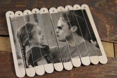 DIY Photo Puzzle Gel Transfer and Popsicle Sticks is part of Cool crafts With Popsicle Sticks - Make this DIY photo puzzle for Valentine's Day or Father's Day or for any special occasion Using gel transfer, popsicle sticks Photo Projects, Projects For Kids, Diy For Kids, Crafts For Kids, Diy Popsicle Stick Crafts, Popsicle Sticks, Craft Sticks, Diy Foto, Stick Photo
