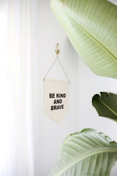 Be Kind and Brave Si
