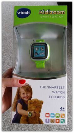 These are going to be added to the Christmas lists this year...One In R Dream reader will WIN a Lime Green VTech® Kidizoom® Smartwatch of their very own (value $60)   Canada Only (excluding Quebec) ends ...