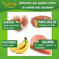 Alimentos para tener un cabello más saludable