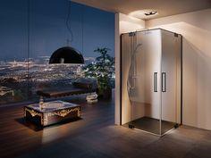 PALME® Dusche für das Bad. Bathtub, Ceiling Lights, Bathroom, Lighting, Furniture, Home Decor, Showers, Bath Room, Standing Bath
