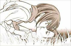 Rivamika kiss Levimika Levi x mikasa Attack On Titan Ships, Attack On Titan Fanart, Attack On Titan Levi, Levi Titan, Armin, Eren And Mikasa, Levi Ackerman, Rivamika, Eremika