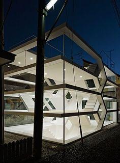 yuusuke karasawa completes the layered S house in saitama, japan