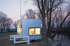 micro homes | The m-ch (micro compact home) is 72 square feet and is occupied by ...