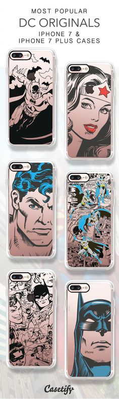 Most Popular DC Originals iPhone 7 Cases & iPhone 7 Plus Cases here > https://www.casetify.com/en_US/collections/dc_originals#/