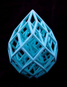 Cubic Lattice Print