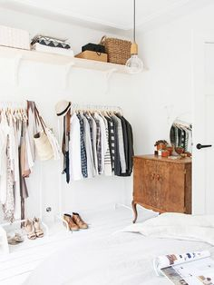 5 Closet Cleaning Tips You Haven't Heard Before via WhoWhatWear
