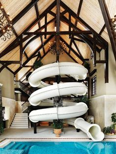 HOME DECOR – IDEAS – What a creative approach to a pool room. Just plain awesome.