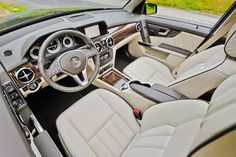 2014 Mercedes Benz GLK 350 interior