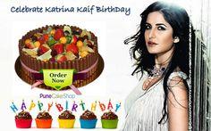 Celebrate Katrina Kaif #BirthDay with Delicious #Cakes Order Now:- http://www.punecakeshop.com  #celebration