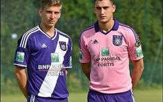 RSC Anderlecht 2014/15 adidas Home and Away Kits
