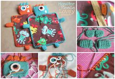Fleece Monster Blanket (Free Pattern)
