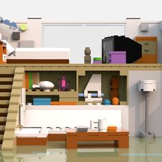 LEGO IDEAS - Steven Universe's Beach House Lego Steven Universe, Build My Own House, Lego Ideas, Beach House, Have Fun, Building, Projects, Furniture, Home Decor