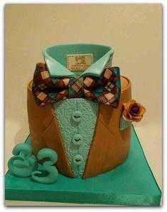 New Cupcakes Fondant Hombre Ideas Unique Cakes, Creative Cakes, Fancy Cakes, Cute Cakes, Fondant Cupcakes, Cupcake Cakes, Decors Pate A Sucre, Rodjendanske Torte, Doctor Cake