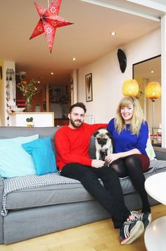 Gillian and Christopher's Colorful Glasgow Apartment — House Tour