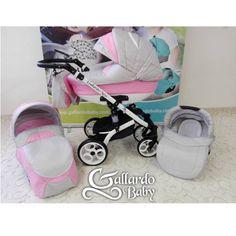 Gallardo Baby Next Multifunkciós babakocsi - Világosszürke - Babarózsaszín Baby Next, Baby Things, Baby Strollers, Children, Type 3, Pink, Facebook, Photos, Baby Prams