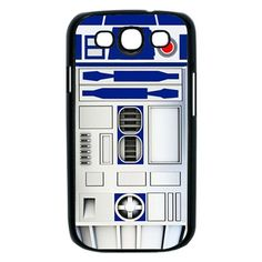 NEW Star Wars R2D2 Samsung Galaxy S3 Case Cover Hard Case Cool R2D2 Robot Inspired - Black and White Case Available