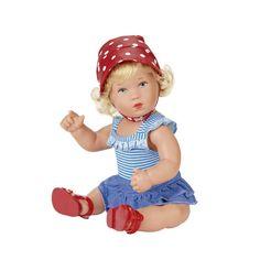 doll/Puppe: Käthe-Kruse Puppen - Produkte - Planscherle Lilli - kann gebadet werden. 30 cm, ab 36 Monaten