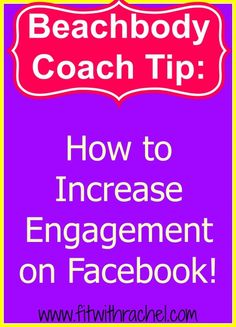 How to Increase Engagement on Facebook! Facebook pages aren't dead =)