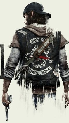 Zombie Apokalypse: Days Gone King's Quest, Day Gone Ps4, Chasseur De Primes, Intense Games, Ps4 Games, Video Game Art, Post Apocalyptic, Apocalypse, Videogames