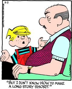 Dennis the Menace for 9/5/2016