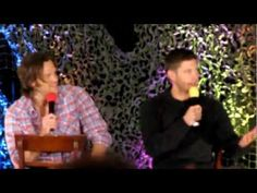 [VIDEO] Jared and Jensen convention panel talking about whether or not the laugh at the end of 7x14 Plucky PennyWhistle's Magical Menagerie was fake or real (+ some other questions) #BurCon2012