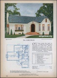 1928 Home Builders Catalog | Corcoran | Daily Bungalow | Flickr