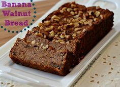 Banana Walnut Bread via www.ingredientsofafitchick.com