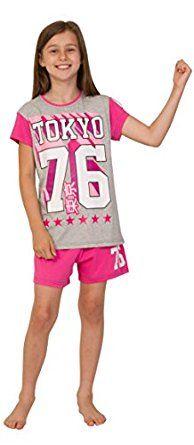Lie Ins Unicorns Besties WiFi Girls Short Pyjamas Pink