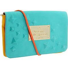 Vivienne Westwood  Color Block Clutch