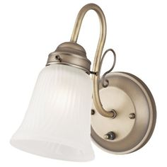 Westinghouse 6751400 One Light Interior Wall Fixture with OnOff Switch and Frosted Ribbed Design Glass Oyster Bronze Finish -- Details can be found by clicking on the image. (This is an affiliate link and I receive a commission for the sales)