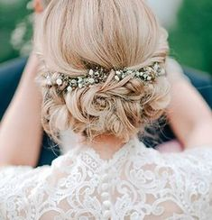 20 Most Romantic Bridal Updos Wedding Hairstyles- http://ohbestdayever.com/2016/07/04/20-romantic-bridal-updos-wedding-hairstyles-to-inspire-your-big-day/