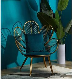 Iron Furniture, Art Deco Furniture, Living Furniture, Unique Furniture, Luxury Furniture, Furniture Design, Best Nursing Chair, Wrought Iron Chairs, Sweet Home