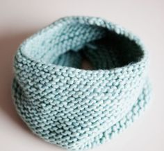 Never scowl with this cowl! Free knitting pattern!