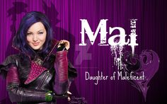 descendants disney mal | Disney Descendants - Mal, daughter of Maleficent by KariaHearts56789 ...