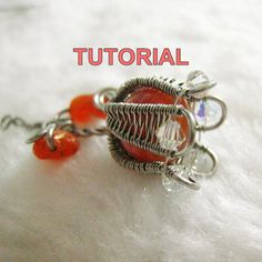 TUTORIAL  Wire Wrapped Tulip Pendant by WireBliss on Etsy, $8.00