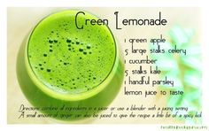 Green Lemonade - Weight Loss Juices