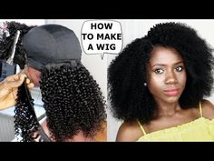 DIY -HOW TO : MAKE A WIG TUTORIAL FOR BEGINNERS [Video] - https://blackhairinformation.com/video-gallery/diy-make-wig-tutorial-beginners-video/